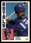 1984 Topps Traded #58  Lynn Jones  Front Thumbnail