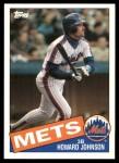 1985 Topps Traded #64 T Howard Johnson  Front Thumbnail