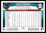 2011 Topps Update #141  Mike Cameron  Back Thumbnail