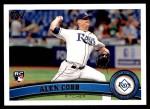 2011 Topps Update #159  Alex Cobb  Front Thumbnail