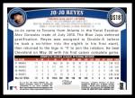 2011 Topps Update #181  Jo Jo Reyes  Back Thumbnail