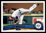 2011 Topps Update #206  J.P. Howell  Front Thumbnail