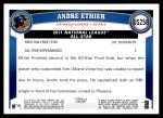 2011 Topps Update #258  Andre Ethier  Back Thumbnail