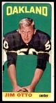 1965 Topps #145  Jim Otto  Front Thumbnail