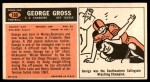 1965 Topps #160  George Gross  Back Thumbnail
