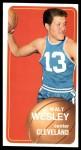 1970 Topps #55  Walt Wesley   Front Thumbnail