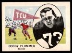 1961 Nu-Card #145  Bobby Plummer  Front Thumbnail