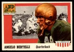 1955 Topps #76  Angelo Bertelli  Front Thumbnail