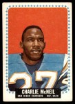 1964 Topps #166  Charles McNeil  Front Thumbnail