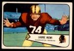 1954 Bowman #63  Laurie Niemi  Front Thumbnail
