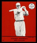 1941 Goudey Reprint #24 RED Stanley Andrews  Front Thumbnail