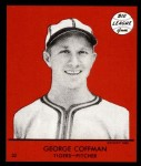 1941 Goudey Reprint #32 RED George Coffman  Front Thumbnail