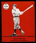1941 Goudey Reprint #11 RED Don Heffner  Front Thumbnail