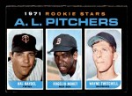 1971 Topps #692   -  Wayne Twitchell / Rogelio Moret / Hal Haydel  AL Rookies - Pitchers Front Thumbnail