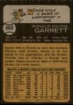 1973 Topps #562  Wayne Garrett  Back Thumbnail