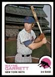 1973 Topps #562  Wayne Garrett  Front Thumbnail