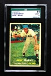 1957 Topps #176 ERR Gene Baker  Front Thumbnail