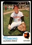 1973 Topps #154  Jeff Torborg  Front Thumbnail