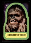1977 Topps Star Wars Stickers #4   Chewbacca the Wookiee Front Thumbnail