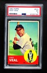 1963 Topps #573  Coot Veal  Front Thumbnail