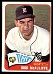 1965 Topps #53  Dick McAuliffe  Front Thumbnail