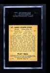 1940 Play Ball #187  Jimmy Dykes  Back Thumbnail