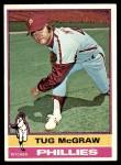 1976 Topps #565  Tug McGraw  Front Thumbnail