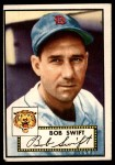 1952 Topps #181 CRM Bob Swift  Front Thumbnail