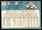 1965 Topps #232  Steve Blass  Back Thumbnail