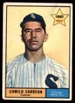 1961 Topps #509  Camilo Carreon  Front Thumbnail