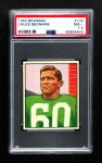 1950 Bowman #132  Chuck Bednarik  Front Thumbnail