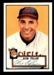 1952 Topps REPRINT #88  Bob Feller  Front Thumbnail
