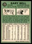 1967 Topps #479  Gary Bell  Back Thumbnail
