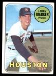 1969 Topps #411  Larry Dierker  Front Thumbnail