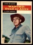 1958 Topps TV Westerns #21  Steve McQueen   Front Thumbnail