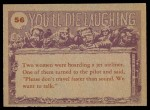1959 You'll Die Laughing #56   Do you believe in humans? Back Thumbnail