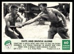 1966 Philadelphia Green Berets #60   Guts And Muscle Alone Front Thumbnail