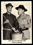 1965 Fleer Gomer Pyle #7   Pyle Only You Could Get Mop Front Thumbnail