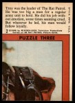 1966 Topps Rat Patrol #2   Troy Was the Leader Back Thumbnail