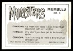 1964 Leaf Munsters #9   Don't Worry Eddie. Just Listen to Me Back Thumbnail