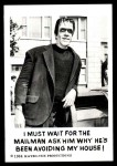 1964 Leaf Munsters #45   I Must Wait for the Mailman Front Thumbnail