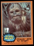 1977 Topps Star Wars #290   Chewie aims for danger! Front Thumbnail