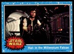 1977 Topps Star Wars #30   Han in the Millennium falcom Front Thumbnail