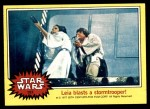 1977 Topps Star Wars #197   Leia blasts a stormtrooper Front Thumbnail