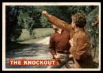1956 Topps Davy Crockett Orange Back #38   The Knockout  Front Thumbnail