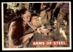 1956 Topps Davy Crockett Orange Back #30   -    Arms of Steel  Front Thumbnail