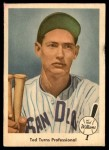 1959 Fleer #6   -  Ted Williams  Turns Pro Front Thumbnail