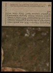 1975 Topps Planet of the Apes #65   Frightful Visage Back Thumbnail