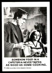 1964 Leaf Munsters #40   Somehow Food in Cafeteria Front Thumbnail