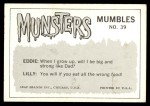 1964 Leaf Munsters #39   This is Marvelous Chair Back Thumbnail